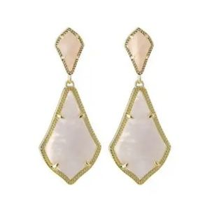 Kendra SCOTT ROSE FOLD ALEXIS EARRINGS !!!